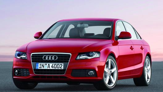 Новый седан Audi A4 будет легче предшественника на 150 кг