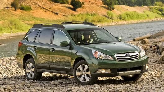 Subaru обновляет американские версии моделей Legacy и Outback