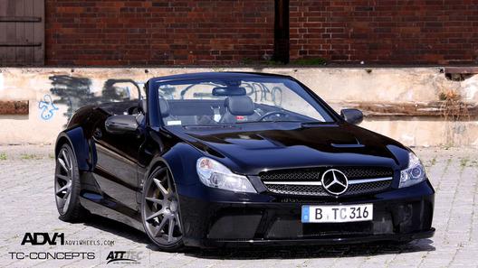 Немецкие тюнеры представили родстер Mercedes SL65 в версии AMG Black Series