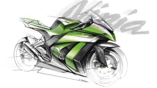 Kawasaki анонсирует новое поколение модели мотоцикла ZX-10R