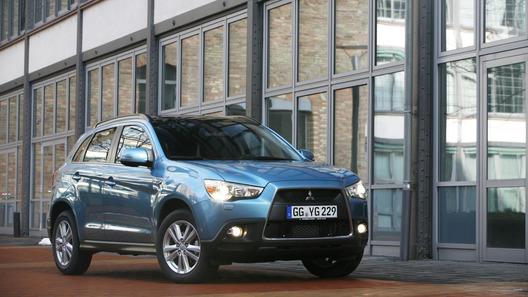 Продажи кроссовера Mitsubishi ASX стартовали на российском рынке