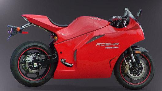 Состоялась презентация электрических мотоциклов Roehr eSuperbike