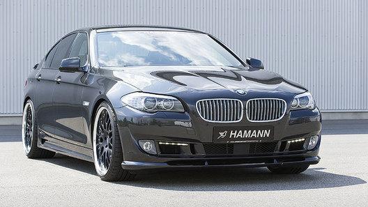 Ателье Hamann демонстрирует первый тюнинг-кит для нового BMW пятой серии