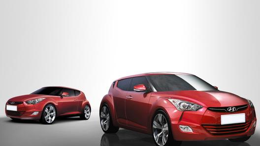 Hyundai продемонстрировала снимки новой модели Veloster