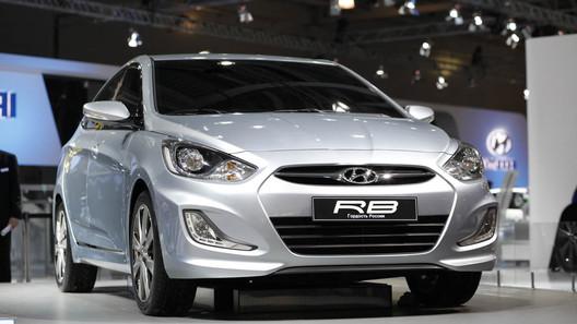 ММАС: компания Hyundai рассекретила компактный седан для России