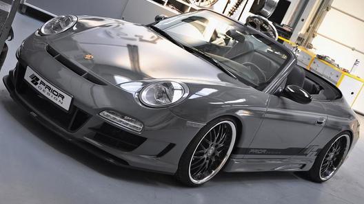 Немецкие тюнеры переделали Porsche 996 в Porsche 997