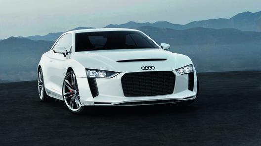 Audi может показать во Франкфурте свой самый быстрый спорткар