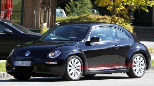 Шпионы засняли новое поколение Volkswagen Beetle