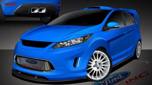 Новый хэтчбек Fiesta займет центральное место в экспозиции Ford на автошоу SEMA