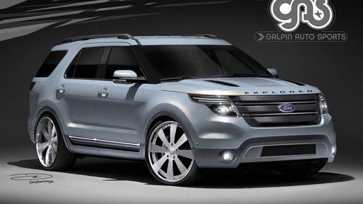 Ford покажет на автошоу SEMA несколько тюнингованных версий нового Explorer