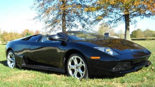 Неизвестный поклонник построил Lamborghini на базе Porsche Boxter