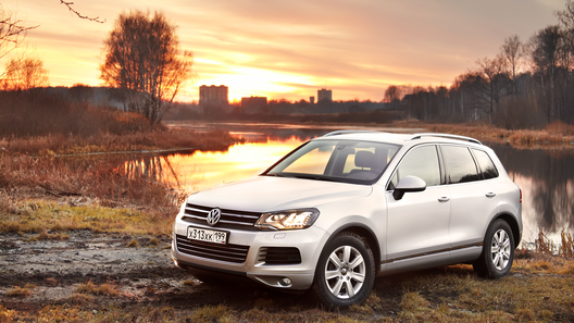 Volkswagen Touareg: калькулятор перегрелся