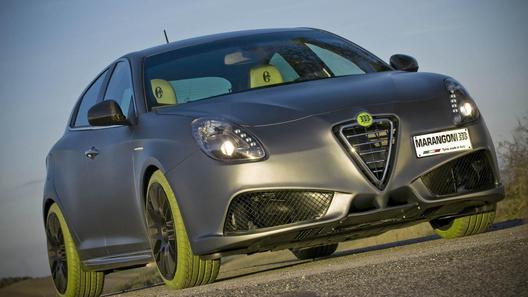 Модная и экологичная Alfa Romeo Giulietta показана в Болонье