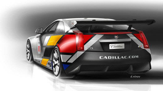 Cadillac построит гоночный болид для национальных чемпионатов