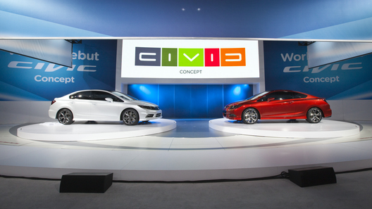 Honda показала в Детройте новое поколение Honda Civic