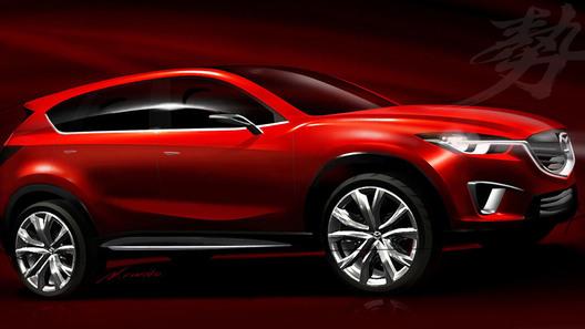 Mazda показала возможный облик нового кроссовера CX-5