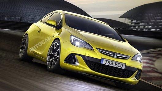 Журналисты раздобыли фотографии новой Opel Astra OPC