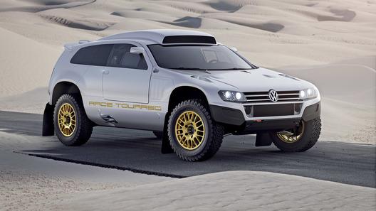 Volkswagen адаптировал RaceTouareg для уличного движения