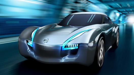 Новейший электроспорткар Nissan привезет на женевский автосалон