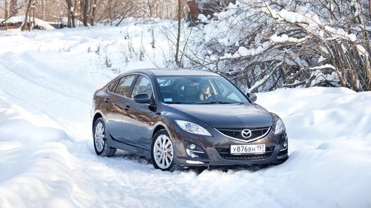 Mazda6 хэтчбек: часть 3 (2853 км)