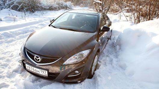 Mazda6 хэтчбек: часть 2 (1624 км)