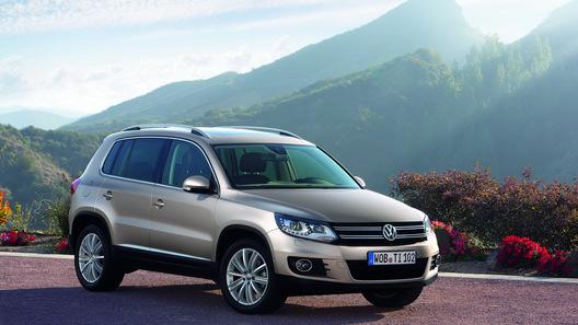 Volkswagen Tiguan получит 210-сильный турбомотор