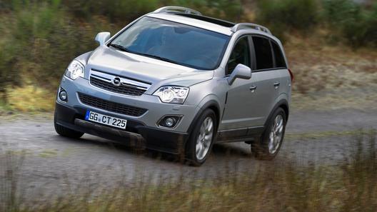 Opel представил обновленный кроссовер Antara