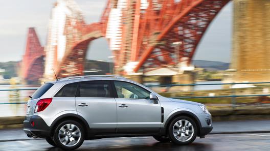 Opel Antara обойдется россиянам в 1,02 млн рублей