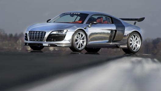 Ослепительно блестящий Audi R8 покажет в Женеве ателье MTM