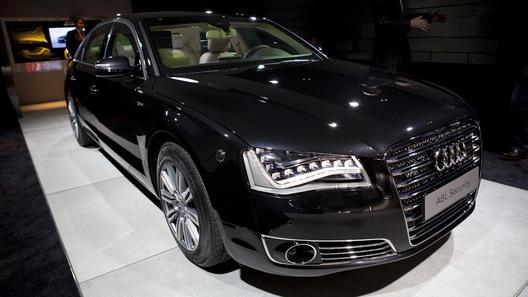 Эксклюзивная премьера бронированного Audi A8 L для Авто.Вести.Ru