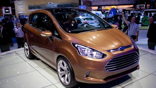 Новый Ford B-MAX будет стоить дешевле Focus