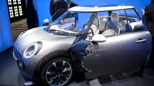 Mini показала свой самый компактный автомобиль