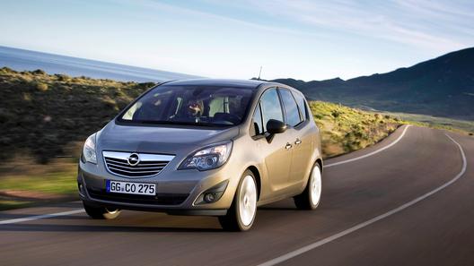 Opel назвал цены на новую Meriva в России