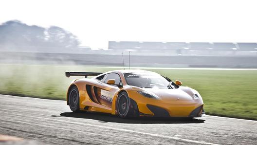 Гоночный McLaren MP4-12C GT3 может получить дорожную версию