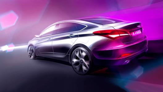 Hyundai i40 в кузове седан представят в Барселоне