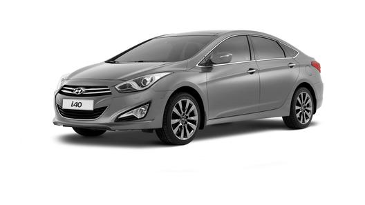 Фото нового седана Hyundai i40 появились в Сети