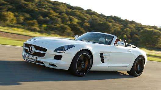 Новый суперкар Mercedes SLS AMG Roadster раскрыт