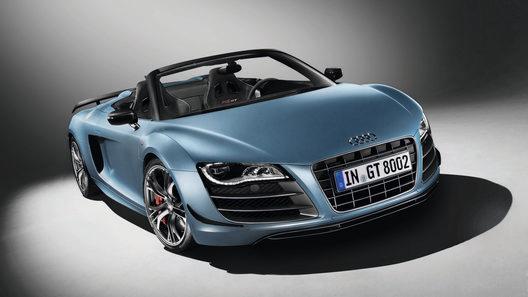 Audi официально представил R8 GT Spyder