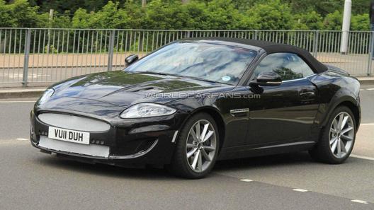 Jaguar испытывает прототип модели XE