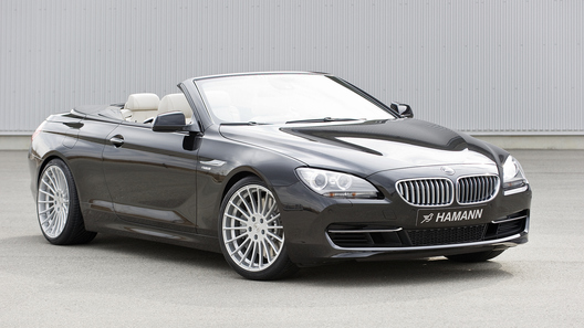 Ателье Hamann интригует тюнингом кабриолета BMW 6 Series