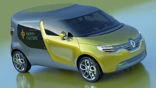 Renault рассекретил концепт-кар Frendzy до Франкфурта