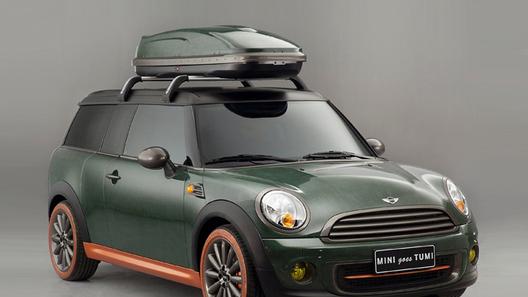 Mini Clubman превратился в большой чемодан