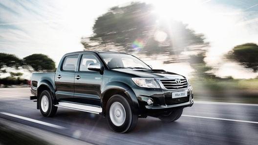 Toyota показала рестайлинговую версию пикапа Hilux