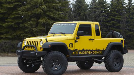 Jeep совместно с тюнинг-ателье выпустит пикап на базе Wrangler
