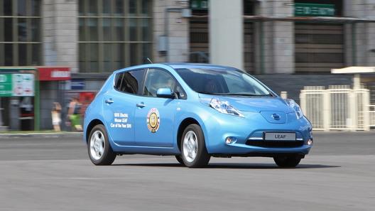 В 2017г. электромобилей в РФ приобретено больше на30 процентов