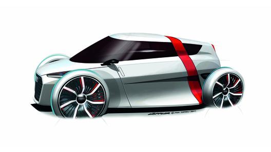 Audi рассекретили новейший электроконцепт