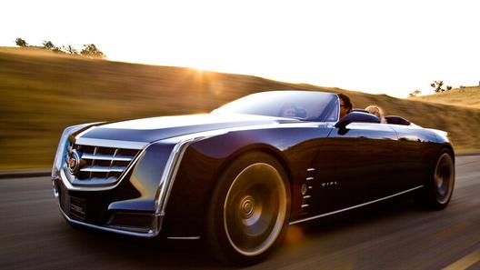 Новый Cadillac отправился в небо