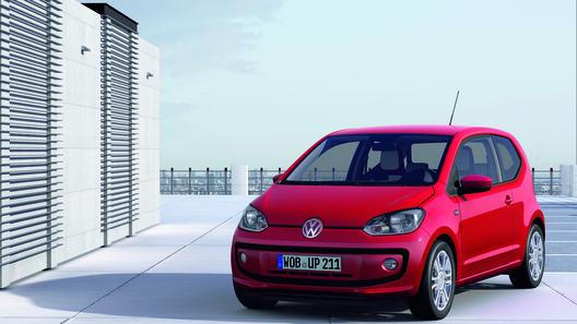 Volkswagen представил бюджетный сити-кар Up!