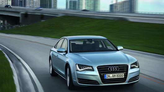 Audi представил гибридный флагман А8