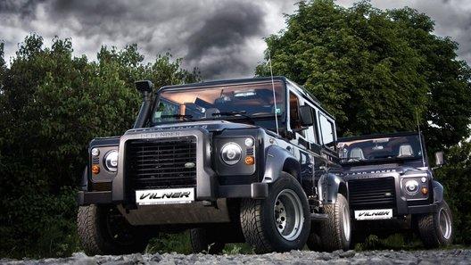 Интерьер Land Rover Defender модернизировали для